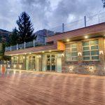 Кафене Gelato & Latte в Лифт Сопот разширяване на туристически комплекс включващ басейни, съблекални, кафене и лифт, НП Архитекти
