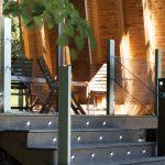 Модерна веранда под дървена стреха, вила сауна, НП Архитекти