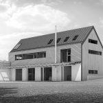 3D Visualisation, Hidden house, NP Architects