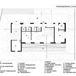 Floor Plan 1, Hidden house, NP Architects
