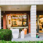 Екстериор, магазин Gelato & Latte, индустриален интериорен дизайн, НП Архитекти